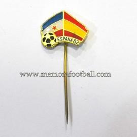 Insignia de aguja FIFA World Cup 1982 - Yugoslavia vs España