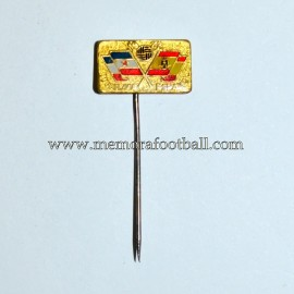 FIFA World Cup 1982 - Yugoslavia vs Spain badge