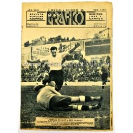 """""""MUNDO GRÁFICO"""" Spanish Magazine, December 06, 1933"""