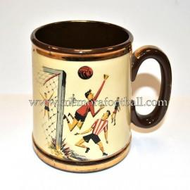 Gibson's 1950's pottery pint tankard