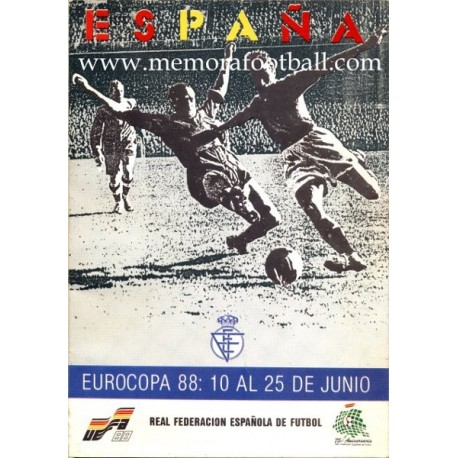 UEFA European Championship 1988 Official Spanish Programme