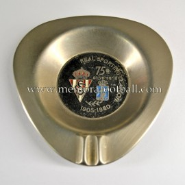 1905-1980 Sporting de Gijón 75th Anniversary ashtray
