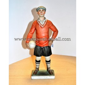 """Footballer of the 20´s"" Porcelana Algora (Spain)"