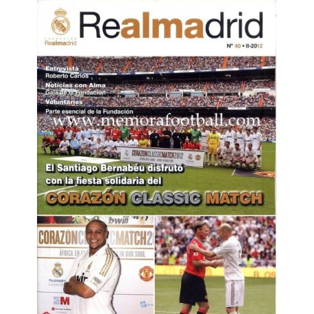 REAL MADRID (Official magazine) nº40, II - 2012