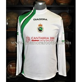 """PINILLOS"" Racing de Santander 2005/06 match worn shirt"