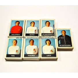 Valencia CF 7 boxes of matches (1970s)