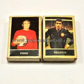 2 cajas de cerillas de la Selección Española de Fútbol (1970s)