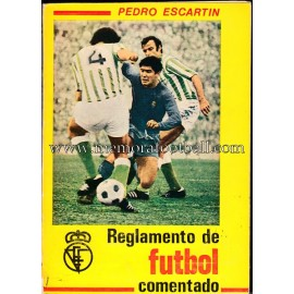 Rules of Football 1973 by Pedro Escartín