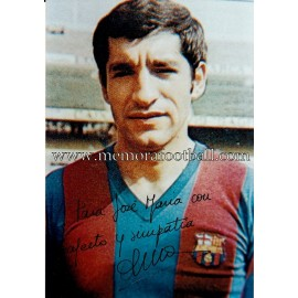 """OLMO"" FC Barcelona signed photo"