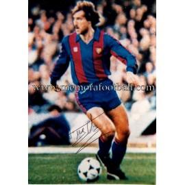 """CLOS"" FC Barcelona fotografía firmada"