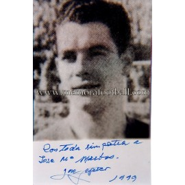 """SEGUER"" FC Barcelona signed and dedicated photo"