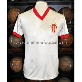 """FERRERO"" Sporting de Gijón vs PSV Eindhoven 04/10/1979 match worn shirt"