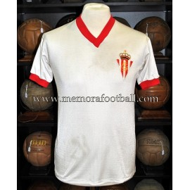 """ENZO FERRERO"" Sporting de Gijón vs PSV Eindhoven 03/10/1979 match worn shirt"