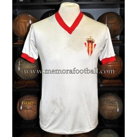"""FERRERO"" Sporting de Gijón vs PSV Eindhoven 03/10/1979 match worn shirt"
