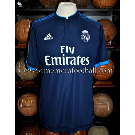 """""""benzema"""" Real Madrid CF LFP 2015-16 match un worn shirt"""