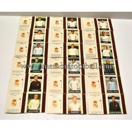 18 cajas de cerillas del Real Madrid CF (1970s)