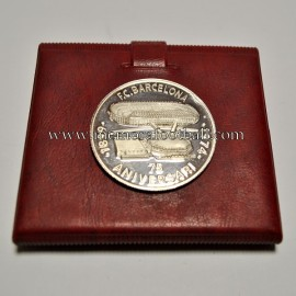 FC Barcelona 1899-1974 75th Anniversary silver medal