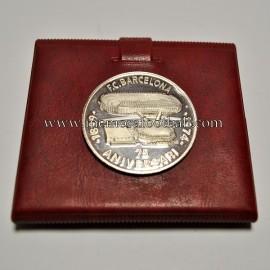 Medalla de plata 75 Aniversario del FC Barcelona 1899-1974
