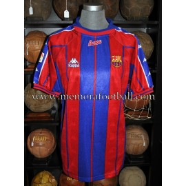 """CIRIC"" FC Barcelona LFP 1997-98 match worn shirt"