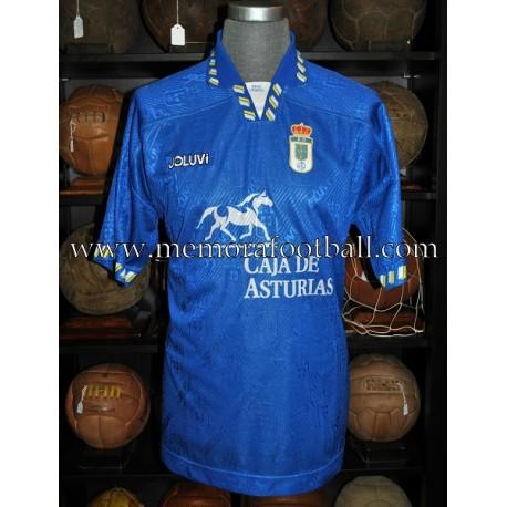 """BERTO"" Real Oviedo LFP 1995-96 match worn shirt"