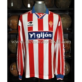 """SOTO"" Sporting de Gijón LFP 2000-01 match worn shirt"