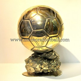 """Ronaldo Nazario da Lima"" 2002 Golden Ball trophy"