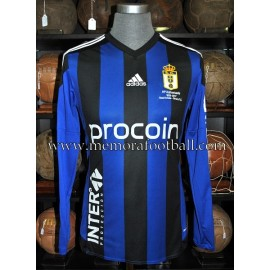 """JOHANNESSON"" Real Oviedo vs Girona 25-03-2017 match worn shirt"