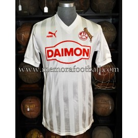 """Dieter Prestin"" FC Köln UEFA Cup 1985-86 home match worn shirt"