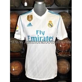 """MODRIC"" Real Madrid CF LFP 2017-18 match un worn shirt"