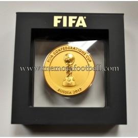 Medalla Copa Confederaciones de la FIFA Rusia 2017
