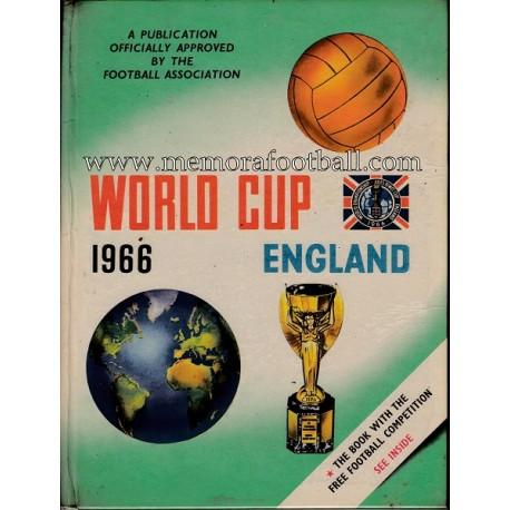 """Libro: """"World Cup 1966 England"""""""