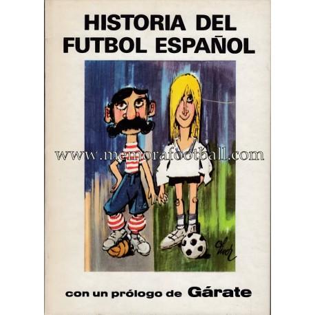 Libro : Historia del fútbol español (1977)