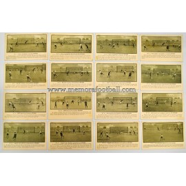 Rules of Football Association, 24 cards, 1920s