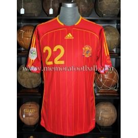 """PABLO IBAÑEZ"" 2006 FIFA World Cup match worn shirt"
