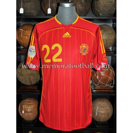"""PABLO IBAÑEZ"" 2006 FIFA World Cup match worn shirt"