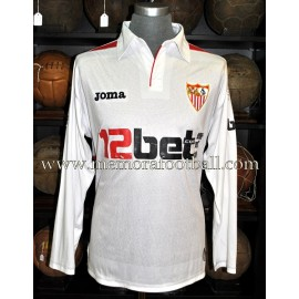 """NEGREDO"" Sevilla FC LFP 2009-10 match worn shirt"