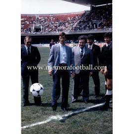 """""""JOHAN CRUYFF"""" FC Barcelona 1980s large photo"""