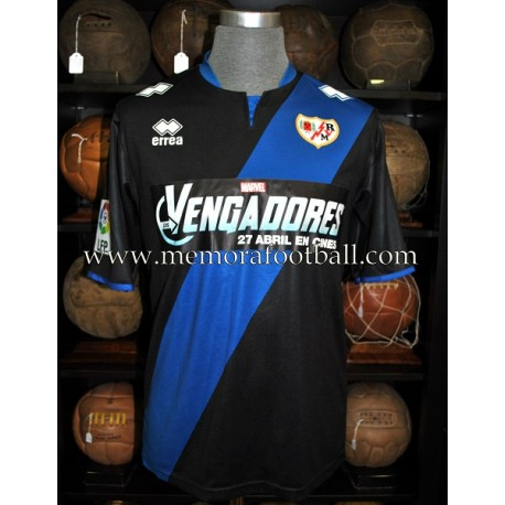 """LEO BAPTISTAO"" 2012-2013 Rayo Vallecano LFP match worn shirt"