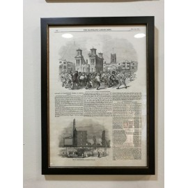 Página enmarcada del Illustrated London News 28 Febrero 1846