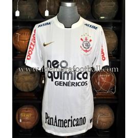 """ROBERTO CARLOS"" SC Corinthians Paulista 2010 match worn shirt"