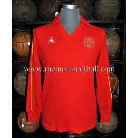 """BUTRAGUEÑO"" Spain National Team 1986 match worn shirt"