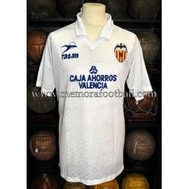 """""""ZURDI"""" Valencia CF 1989-90 match worn shirt"""