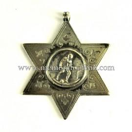 Medalla de plata de fútbol, final de la época Victoriana inglesa (s.XIX)