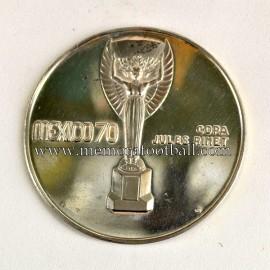 Medalla oficial del Campeonato Mundial de Fútbol México 1970