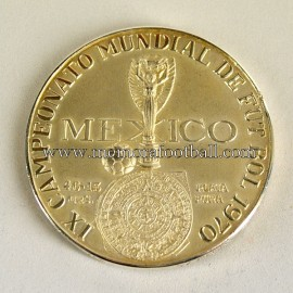 FIFA World Cup 1970 Mexico Silver Participation Medal