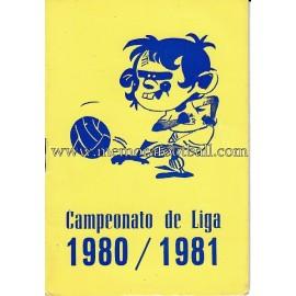 Calendario Liga 1ª, 2ª y 3ª Division 1981-1982