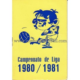 Spanish League 1ª, 2ª y 3ª Division 1981-1982 football calendar