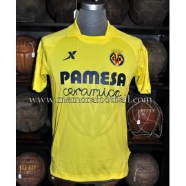 """""""JONATHAN PEREIRA"""" Villareal CF LFP 2013-2014 match worn shirt"""