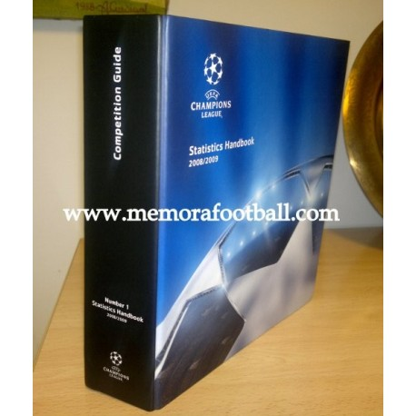 2008/2009 UEFA Champions League Official Statistics Handbook