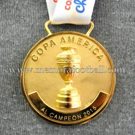 """Chile National Team """"Copa América 2015"""" player medal"""